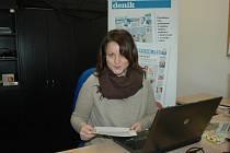 Veronika Záhorská v redakci Slováckého deníku odpovídala na dotazy čtenářů.