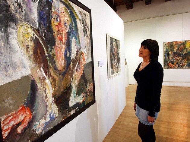 Výstava Přírůstky 1992 – 2012 ve Slovácké galerii v Uherském Hradišti.