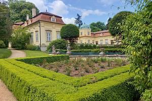 Zámecký park Buchlovice.