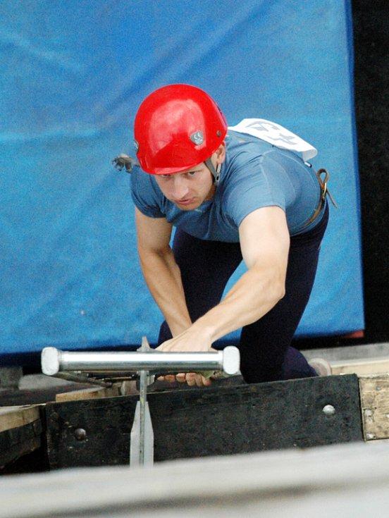 Sedmý ročník krajské soutěže v požárním sportu.