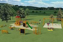 Tak bude vypadat dětské hřiště v Polešovicích