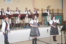 Dechová hudba Vlčnovjanka.