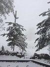Na Lopeník se vrátila zima.