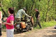 Zahájení prohlídkové sezony bunkru u Sv. Antonínku nedaleko Ostrožské Lhoty