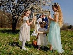 Soutěžní svatební pár číslo 98 - Jana a Martin Hradílkovi, Radvanice