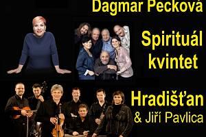 Dagmar Pecková, Hradišťan a Spirituál kvintet naplánovali společný koncert