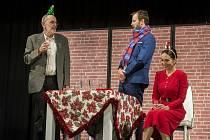 Komedii Když se zhasne představí 8. listopadu od 19 hodin v Klubu kultury v Uherském Hradišti.