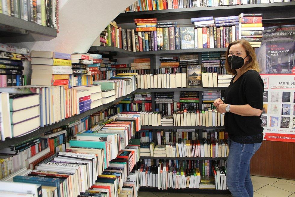 Řehořovo knihkupectví v Uherském Hradišti.