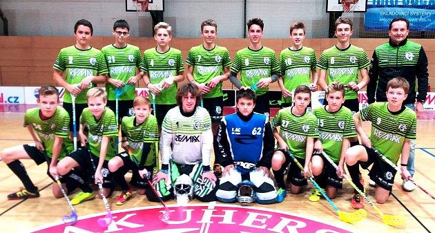 Starší žáci 1. AC Uherský Brod potvrdili, že v letošním ročníku Zlínské florbalové ligy nemají konkurenci.
