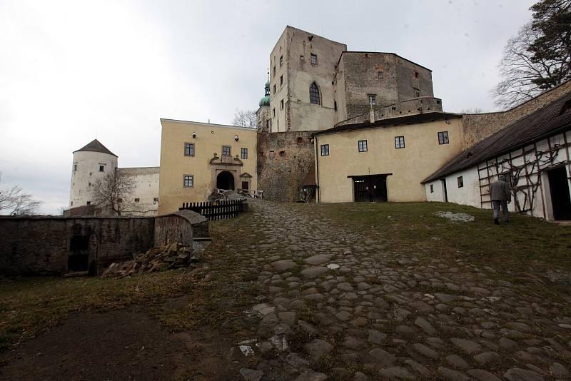 Do katastru městyse Buchlovice patří také hrad Buchlov.