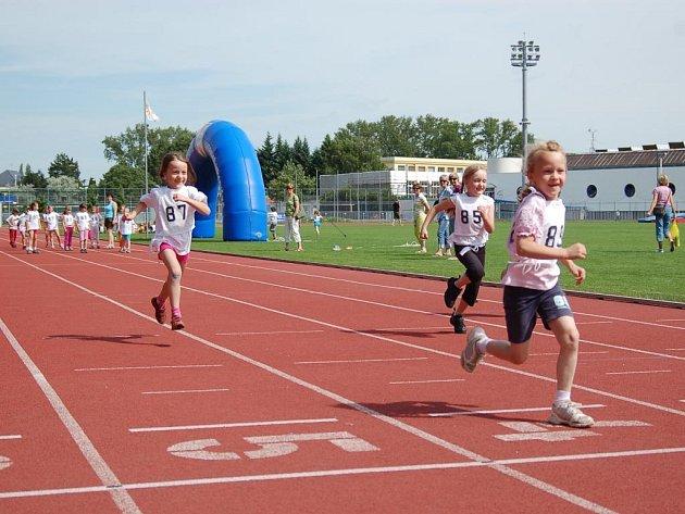 Děti soutěžily ve třech disciplínách
