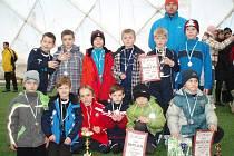 Mladí fotbalisté Slovácka si nakonec z Hlučína odvezli stříbrné medaile.
