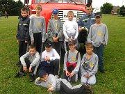 Kroužek mladých hasičů ze Starého Města.
