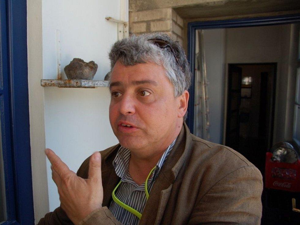 Někdejší fotograf Václava Havla vystavuje v hradišťské kavárně Portal.