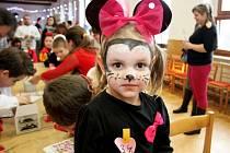 Valentýnský dětský karneval na Modré se uskutečnil v režii tamních a velehradských skautů a Baby clubu Modrá.