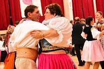 Ve Strání se konal krojový ples pojedenácté
