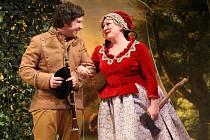 Hra Lucerna ve  Slováckém divadle v Uherském Hradišti.