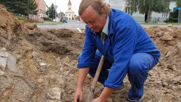 Do průzkumu se zapojil i František Šálek z novoveského hospodářského střediska.