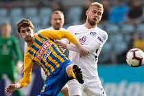 Slezský FC Opava proti Slovácku. Ilustrační foto