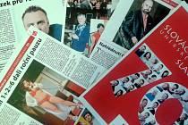 Příloha Slováckých novin k 70. výročí Slováckého divadla.