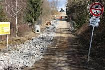Bezprostřední okolí kopce Rochus v Uherském Hradišti se v současné době potýká se stavebními pracemi.