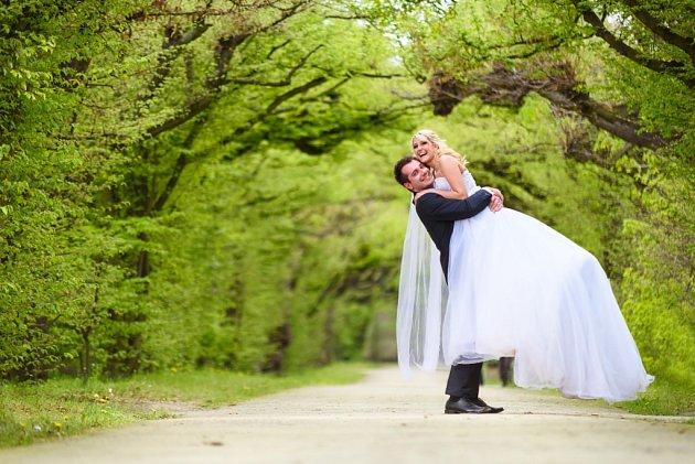 Soutěžní svatební pár číslo 52 - Radka a Martin Kulendovi, Holešov