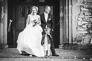 Soutěžní svatební pár číslo 97 - Kristýna a Filip Cíchovi, Nedašov