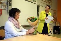 Hra  Úča musí pryč  Slovácké divadlo hraje ve třídě  ZŠ Unesco v Uherském Hradišti.