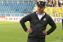 Trenér fotbalistů Slovácka Martin Svědík