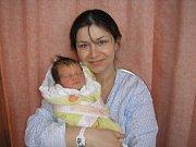 Lenka Zápotocká a dcera Elena Zápotocká, 52cm, 3250 g, 7. 12. 2010