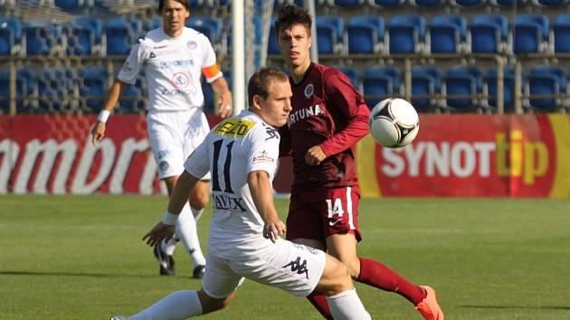 Sparta Praha - 1. FC Slovácko. Ilustrační foto.