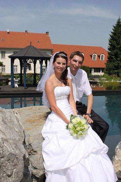 Svatební pár č. 102Simona a Lukáš Sedlákovi, Hranice