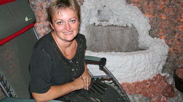 Marcela Samohýlová má čas na relaxaci v jeskyni jen občas.