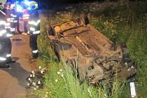 Dopravní nehoda u Žítkové.