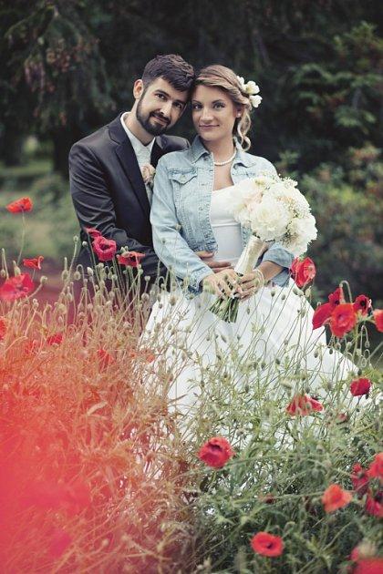 Soutěžní svatební pár číslo 92 - Tereza a Jiří Leitnerovi, Přerov