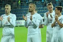 Radost fotbalistů Slovácka. Ilustrační foto