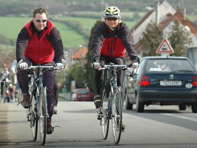 Cyklistický  výlet Na kole mezi vinohrady.