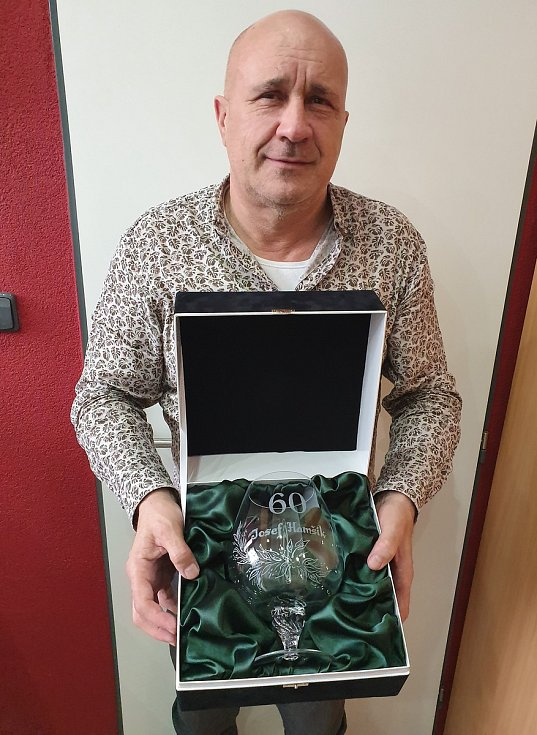 Předseda fotbalového klubu ČSK Uherský Brod Josef Hamšík oslavil na konci ledna významné životní jubileum.