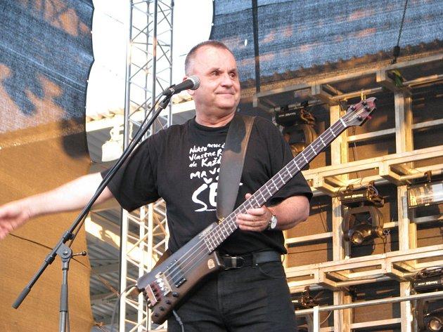 Slovenská skupina Elán koncertovala v Uherském Hradišti.