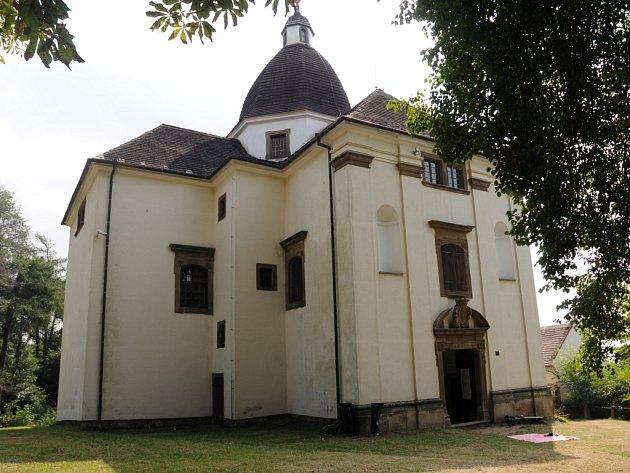 Kaple svaté Barbory na kopci Modla.