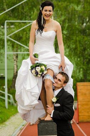 Soutěžní svatební pár 33 -  Zuzana a Jiří Flekačovi.