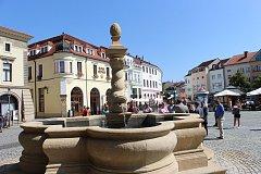 Kašna na Masarykově náměstí