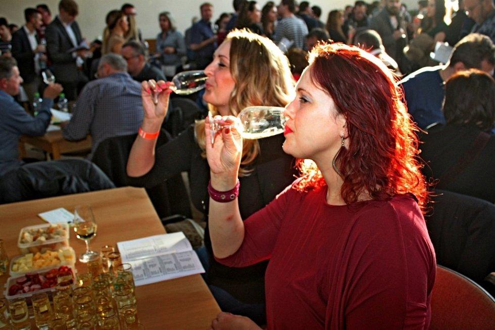 Výstava vín v Sadech.