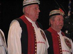 Dolněmčané. Ve Velké nad Veličkou se setkalo mnoho souborů z různých koutů Slovácka.