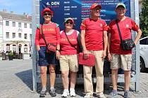 Čtveřice portugalských fanoušků zamířila do Uherského Hradiště z dalekého Porta.