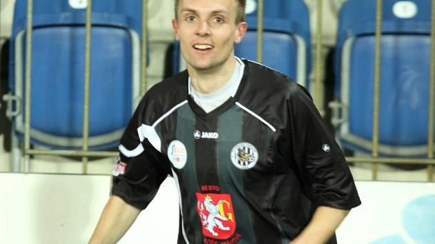 Vojtěch Štěpán v hradeckém dresu.