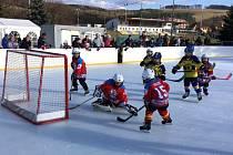Nejmenší hokejisté si užili Winter Classic