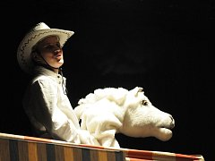 Divadelní inscenace Limonádový Joe v podání Hoffmannova divadla.