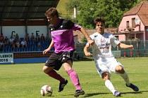 Nedachlebice - 1. FC Slovácko 1:12 (0:5). Přípravné utkání (Slovácko v bílém)