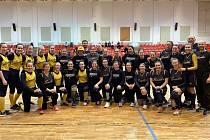 Kunovický oddíl vyslal do boje nejen žlutý a modrý tým, jeho hráčky ale hrály i za Rakousko-Uhersko nebo Slovensko.